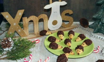 Ježci – vánoční cukroví