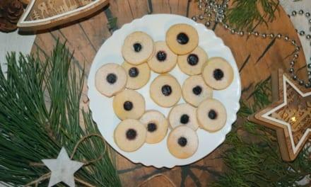 Bezvaječné linecké sušenky
