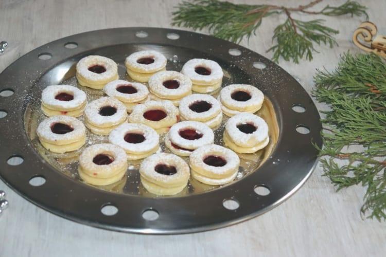 Bezlepkové linecké sušenky