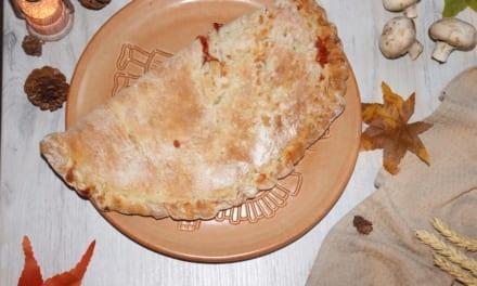 Pizza kapsa s kuřecím masem