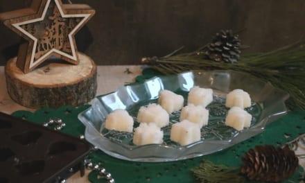 Vánoční kostkový cukr