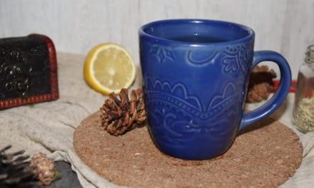 Zázvorový čaj s fenyklem