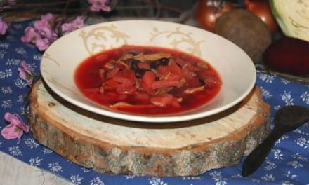 Polévka Boršč (Ukrajina/Rusko)