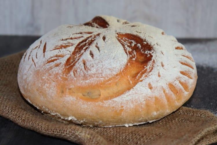 Celozrnný špaldový chléb