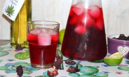 Aqua de Jamaica – ibišková limonáda
