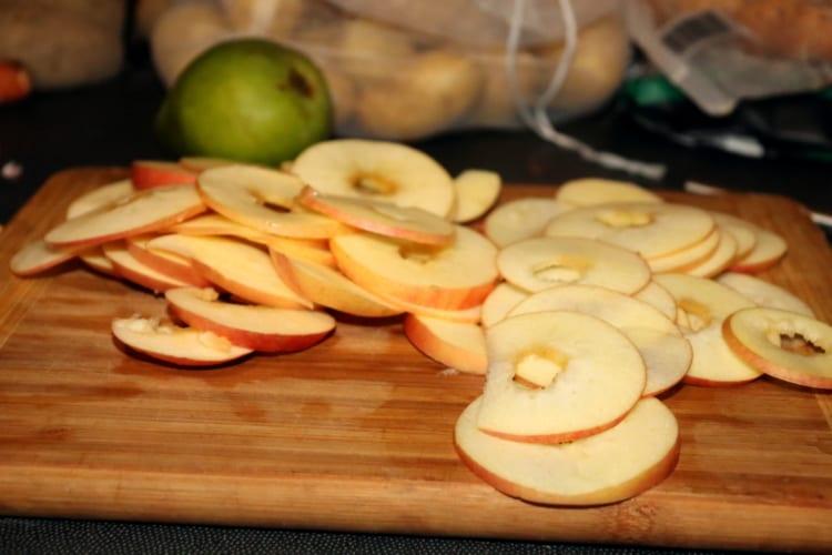 Jablečné chipsy