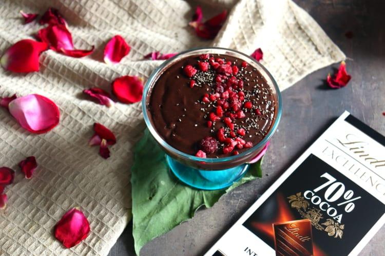 Sójový puding (inspirování Alpro čokoládovým pudingem)