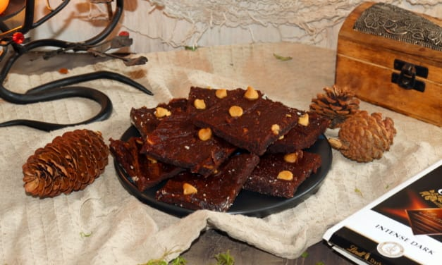 Veganské batátové brownies