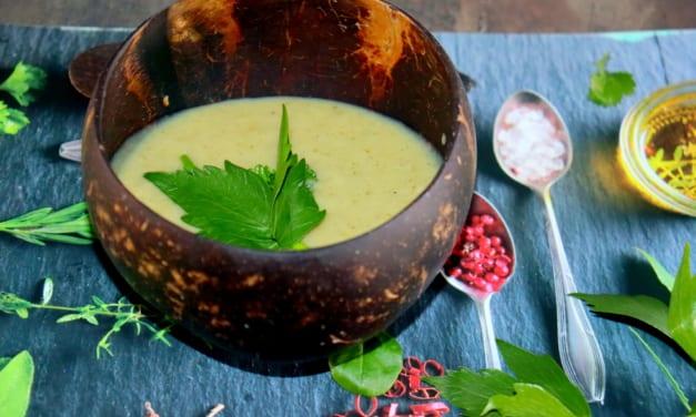 Brokolicová polévka podle ajurvédy