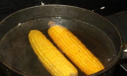 Mražená kukuřice: zrnka