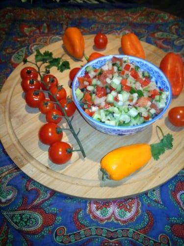 Shirazi salát (Izrael)