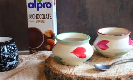 Alpro čokoládový puding