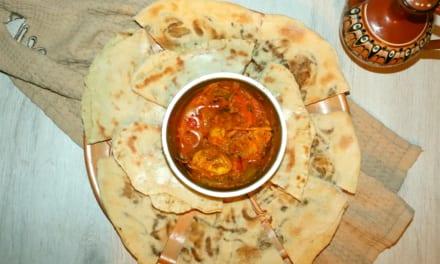 Berberská pizza (Afrika)