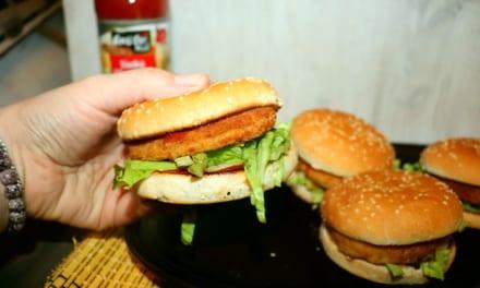 Chickenburger jako od McDonalds